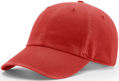 Richardson Pigment Dyed And Washed Cap Red