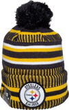Pittsburgh Steelers Knit Pom Toque NFL Sideline