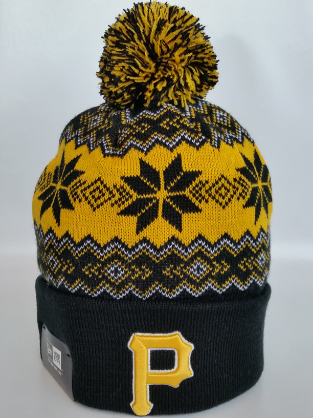 Pittsburgh Pirates Snowflake Pom Toque