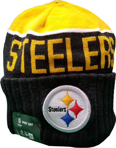 Pittsburgh Steelers Cuffed Beanie Toque