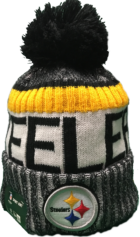 f91814f5d Pittsburgh Steelers NFL 17 Sideline Pom Toque – More Than Just Caps  Clubhouse