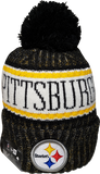 Pittsburgh Steelers NFL 18 Sideline Pom Toque