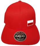 Poland Cap Flex Fit FLS Red