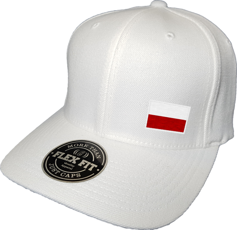 Poland Cap Flex Fit FLS White
