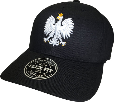 Poland Chivalry Flex Fit Cap Black