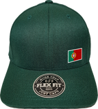 Portugal Cap Flex Fit FLS Green