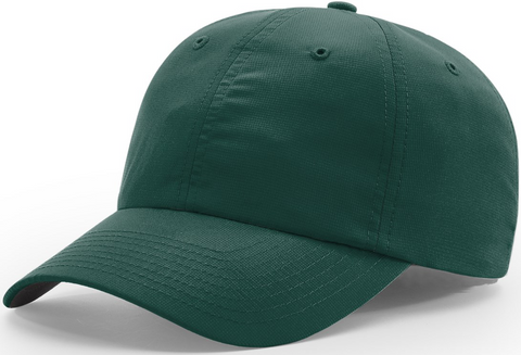 Richardson Relaxed Lite Performance Cap Dark Green