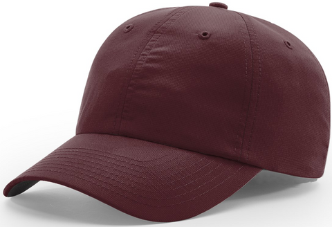 Richardson Relaxed Lite Performance Cap Maroon