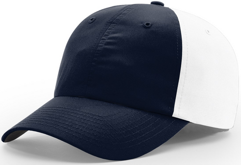 Richardson Relaxed Lite Performance Cap Navy White