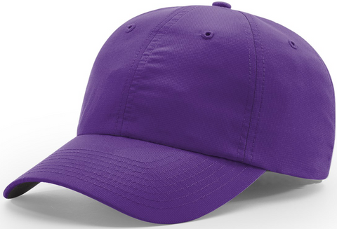 Richardson Relaxed Lite Performance Cap Purple