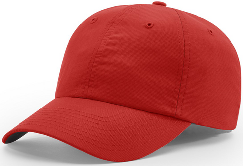 Richardson Relaxed Lite Performance Cap Red