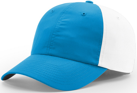 Richardson Relaxed Lite Performance Cap Sky Blue White