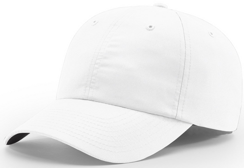 Richardson Relaxed Lite Performance Cap White