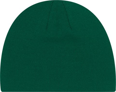 Rib Knit Board Toque Dark Green