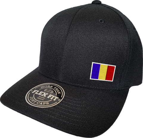 Romania Cap Flex Fit FLS Black