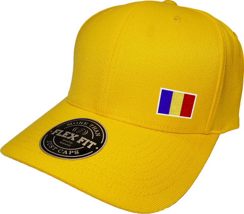 Romania Cap Flex Fit FLS Gold