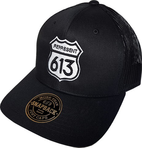 Route 613 Black Trucker