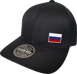 Russia Cap Flex Fit FLS Black