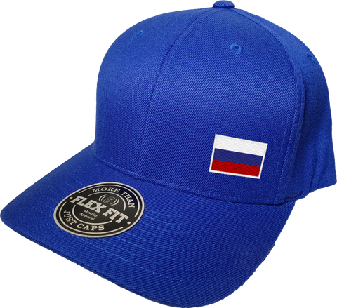 Russia Cap Flex Fit FLS Blue
