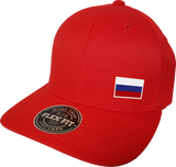Russia Cap Flex Fit FLS Red