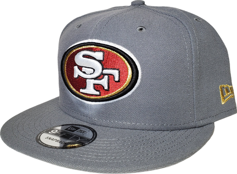 San Francisco 49ers Snapback Grey