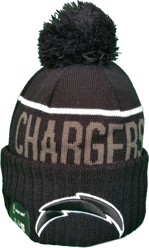 San Diego Chargers Fleece Lined Black Pom Toque – More Than Just Caps  Clubhouse 27827664687