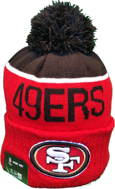 2006a33f6 San Francisco 49ers Sideline Toque Pom Knit – More Than Just Caps Clubhouse