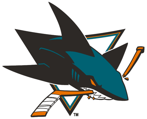 San Jose Sharks Jersey Numbering Pro Stitched 2 Layer