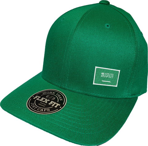 Saudi Arabia Cap Flex Fit FLS Green