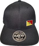 Sicily Cap Flex Fit FLS Black