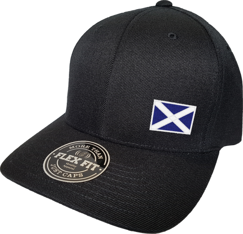 Scotland Cap Flex Fit FLS Black