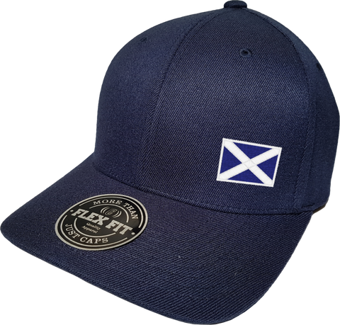 Scotland Cap Flex Fit FLS Navy