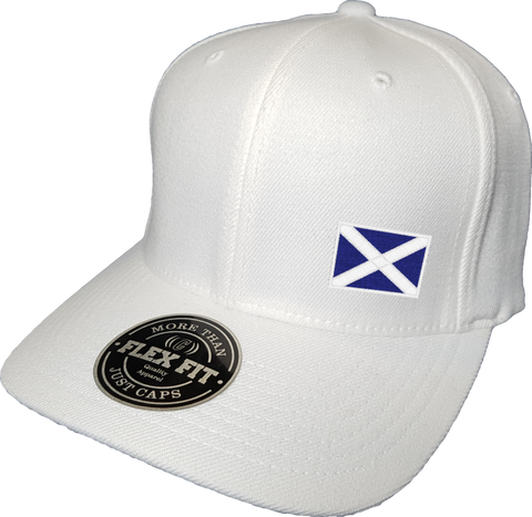Scotland Cap Flex Fit FLS White
