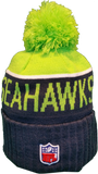 Seattle Seahawks Sideline Knit Pom Toque