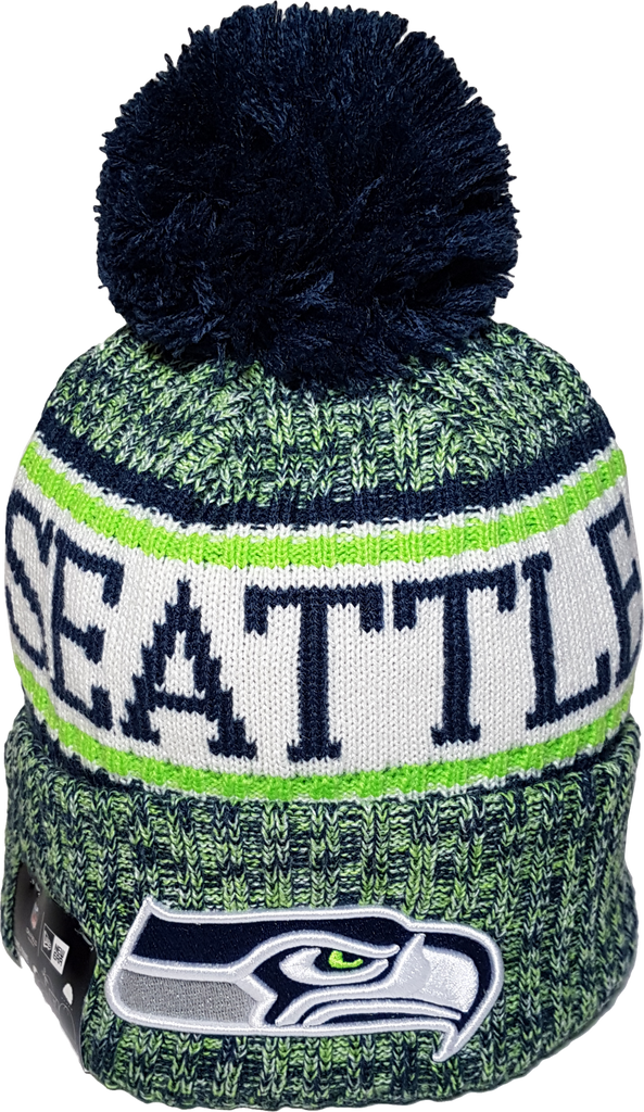 87f388a8a Seattle Seahawks NFL 18 Sideline Pom Toque – More Than Just Caps Clubhouse