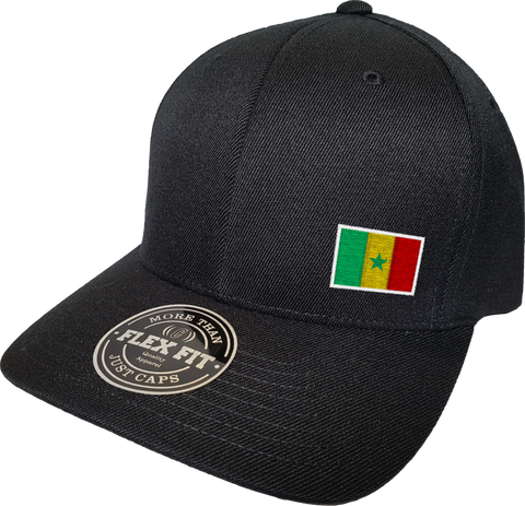 Senegal Cap Flex Fit FLS Black