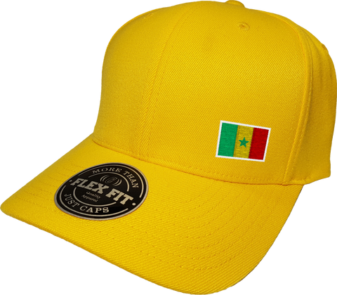 Senegal Cap Flex Fit FLS Gold