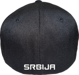 Serbia Cap Flex Fit FLS Black