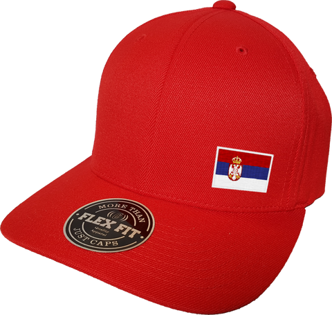 Serbia Cap Flex Fit FLS Red
