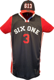 Six One 3 Basketball Jersey