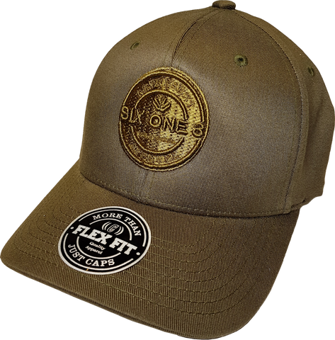 Six One 3 Benchmark Flex Fit Cap Army Green