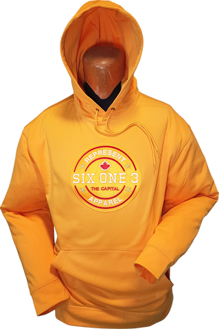 Six One 3 Benchmark Hoodie Gold
