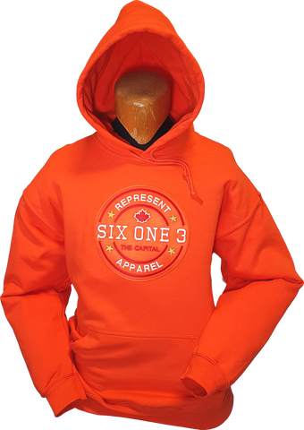 Six One 3 Benchmark Hoodie Orange
