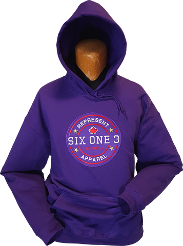Six One 3 Benchmark Hoodie Purple