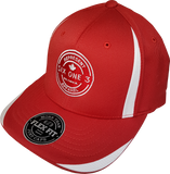 Six One 3 Benchmark Tech Flex Fit Cap Red White
