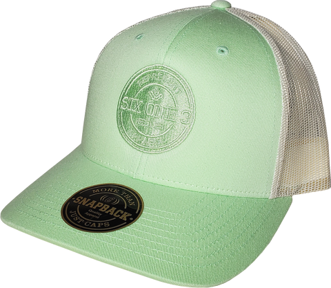 Pastel Green Trucker Six One 3