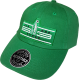 Six One 3 Cyber Patch Dad Hat Green