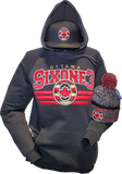 Six One 3 Elite Premium Ottawa Hoodie Black Heather