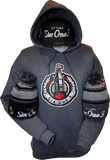 Six One 3 The Hill Hoodie Heathered Black
