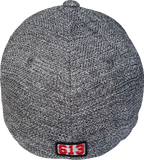 Six One 3 The Hill Flex Fit Cap Dark Heather Melange